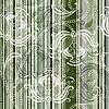 Vektor Cliparts: Gestreiftes Blumenmuster