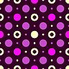 Векторный клипарт: Бесшовные темным рисунком лилы