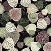 Vector clipart: Dark autumn seamless pattern