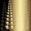 Vector clipart: Vintage gold elegance frame
