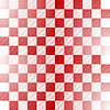 Seamless red-white checkered pattern | Stock Vector Graphics