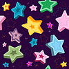 Vector clipart: Seamless violet pattern