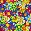 Floral seamless pattern | Stock Vector Graphics