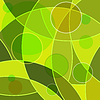Vector clipart: Abstract green background