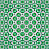 Vector clipart: Repeating green ornament