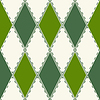 Vector clipart: Decorative pattern of rhombuses
