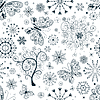 Vector clipart: Christmas repeating pattern