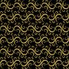 Vector clipart: Golden-black seamless pattern
