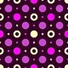 Vector clipart: Seamless dark lilas pattern