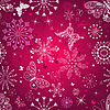Seamless purple christmas pattern | Stock Vector Graphics