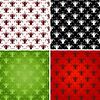 Vector clipart: Set effortless patterns