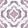 Vector clipart: Seamless white-pink pattern