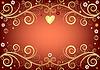 Valentine pink background | Stock Vector Graphics