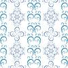 Vektor Cliparts: Weiße Weihnachten nahtlose Muster