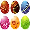 Vektor Cliparts: Ostern `s Eier