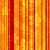 Seamless orange-red striped pattern