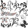 Decorative design elements | Stock Vector Graphics