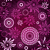 Vector clipart: Dark-purple seamless pattern