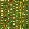 Vector clipart: geometry seamless pattern