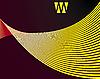 Векторный клипарт: абстрактный желтый фон