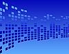 Vector clipart: blue tile background