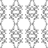 Vector clipart: seamless damask pattern