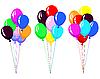 Vector clipart: air balloons