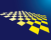 Vector clipart: checkered board