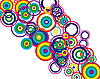 Vector clipart: circles background