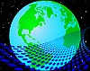 Vector clipart: earth globe