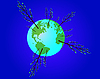 Vector clipart: ecological globe