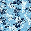 Patrón floral inconsútil | Ilustración vectorial