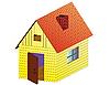 Векторный клипарт: сельский дом