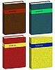 Векторный клипарт: Книга иконки