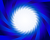 Vector clipart: blue spiral background