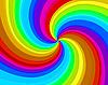 Rainbow spiral background | Stock Vector Graphics