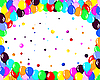 Vector clipart: colorfull balloons