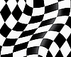 Vector clipart: racing flag
