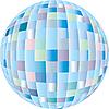 Vector clipart: disco sphere