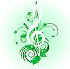 Векторный клипарт: музыкальный гранж-дизайн