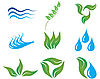 Vector clipart: ecology icons