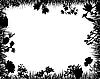 Векторный клипарт: цветочная рамочка