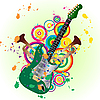 Vector clipart: guitar