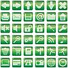 Векторный клипарт: Набор значков интернет