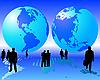 Векторный клипарт: бизнеса во всем мире