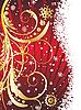 Vector clipart: christmas postcard