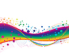 Vector clipart: colorful background