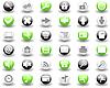 Векторный клипарт: набор иконок