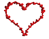 Vector clipart: heart frame