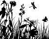 Vector clipart: meadow background